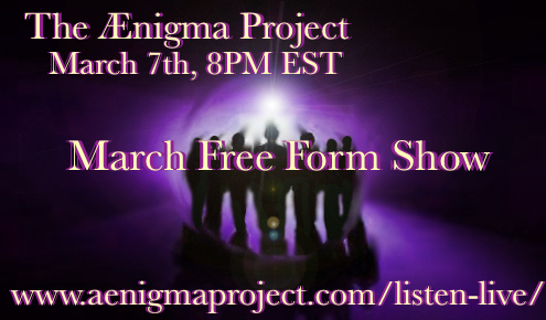 March Free Form Show-Podcast